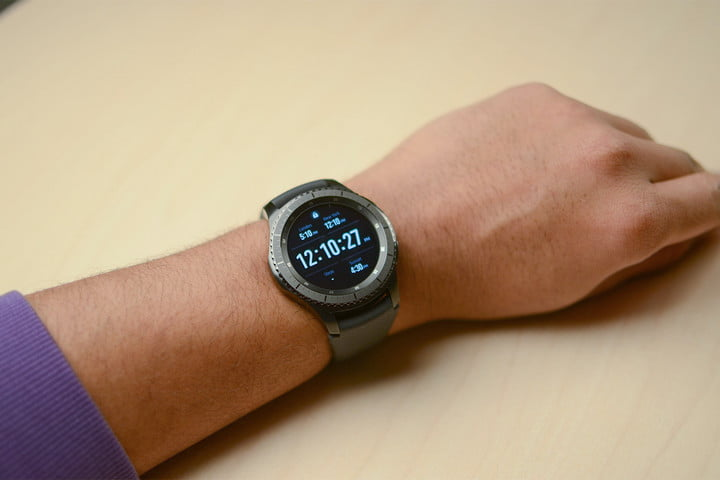 samsung gear s  review frontier