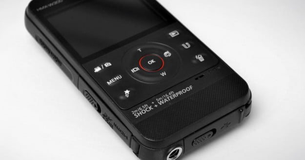 Samsung HMX W300 review camcorder controls flash camcorder