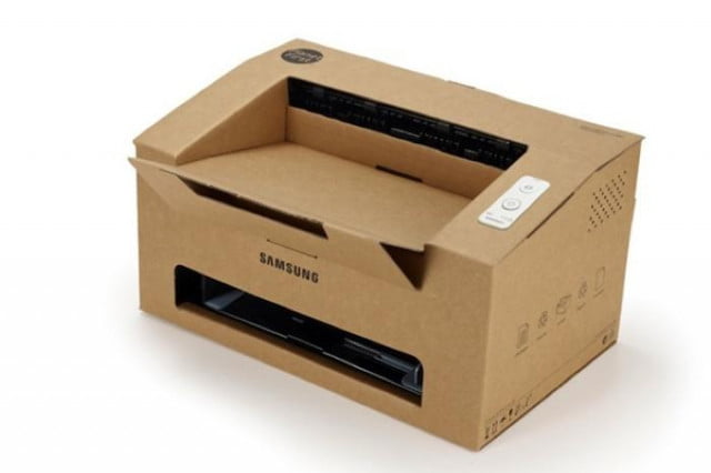 environment in mind inspired by donuts samsung creates printer out of cardboard idea  origami