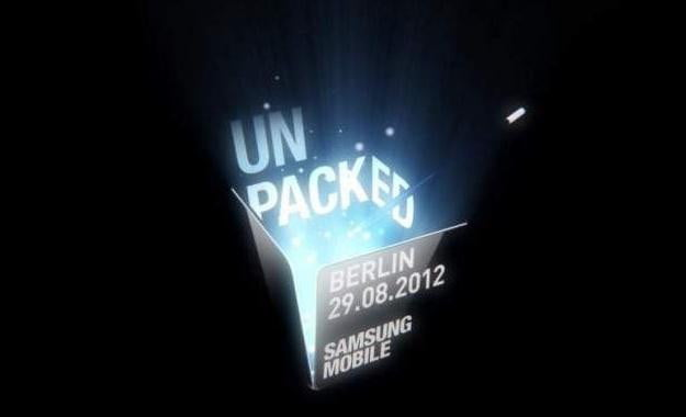 Samsung Unpacked in Berlin at IFA 2012