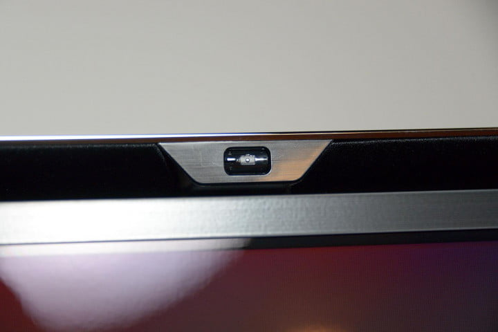 samsung kn  s c review oled tv front camera button