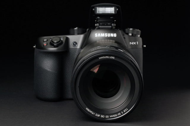 sharp shooters favorite cameras  samsung nx front
