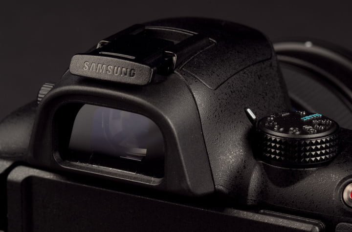 samsung nx  review view finder macro