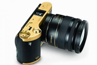 Samsung NX300 Gold Edition Smart Camera