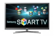 sunbritetv sb  hd review samsung pn d televison front smart apps