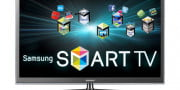 vizio vf  xvt review samsung pn d televison front smart apps