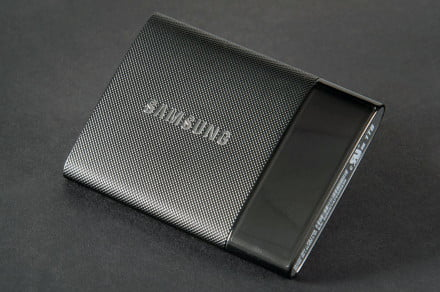 Samsung Portable SSD T1 side