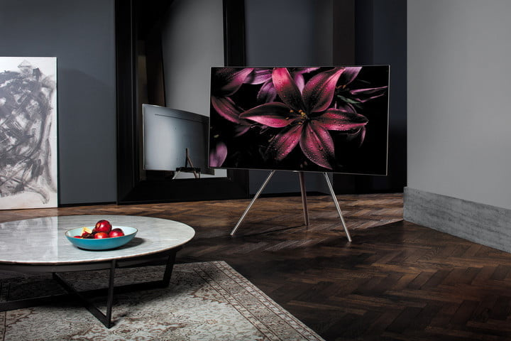 samsung  qled tv series models pricing features floor stand