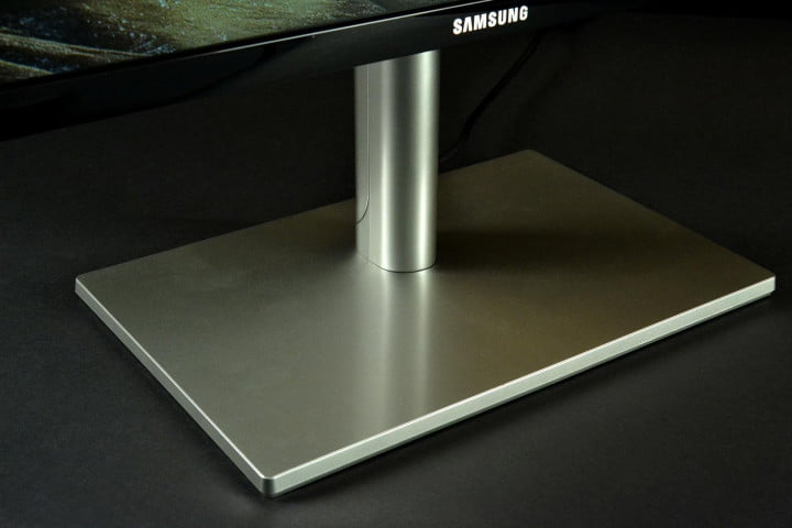 samsung series  s c p review stand front