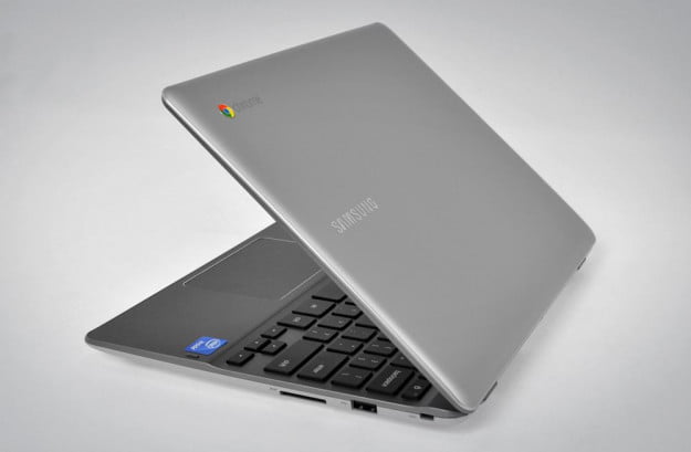 samsung series 5 550 chromebook review google chrome os laptop side open