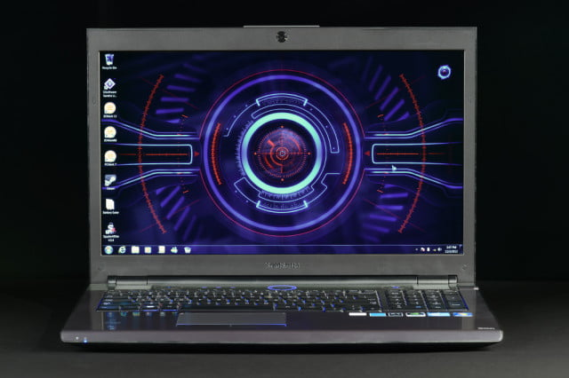 samsung series  gaming laptop review front screen