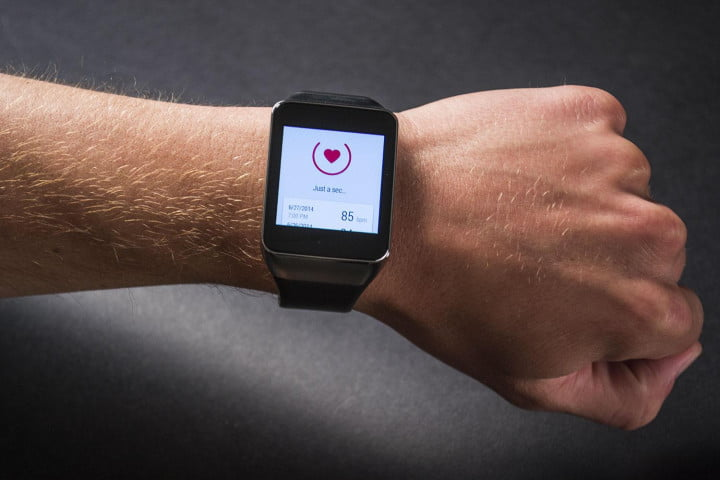 samsung gear live review sm r  heart monitor