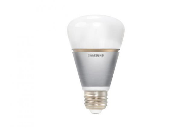 samsung gets lighting game announces new line smart bulbs light bulb