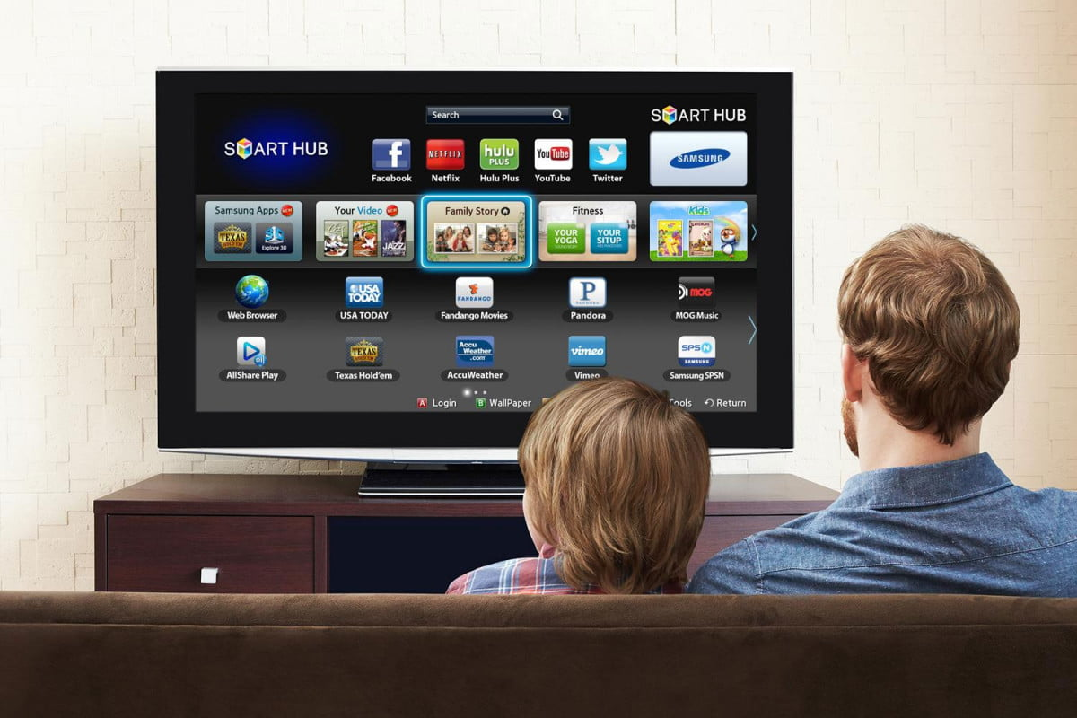samsung gaia security solution announced smart tv hub