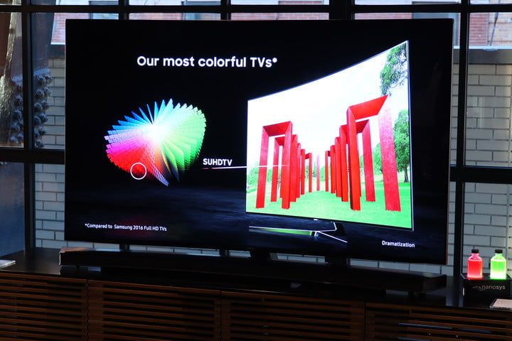 samsung ks  tv first look