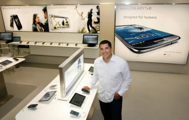 samsung store vancouver