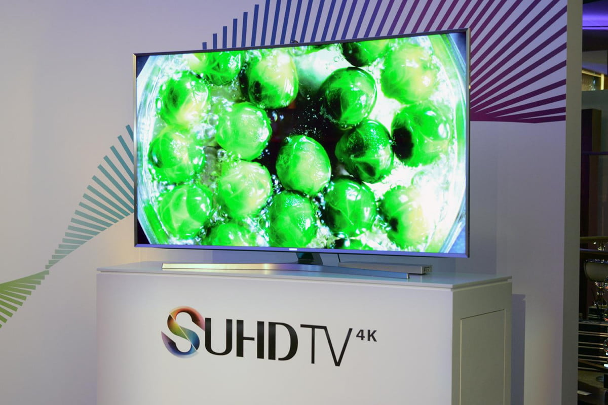 amazon will bring hdr this year transparent bosch samsung suhd tv  k ny event