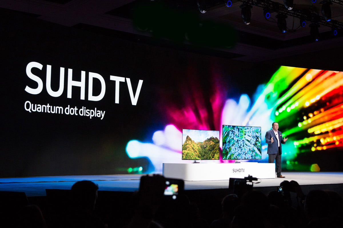 samsung says new quantum dots better than oled suhd tv dot display