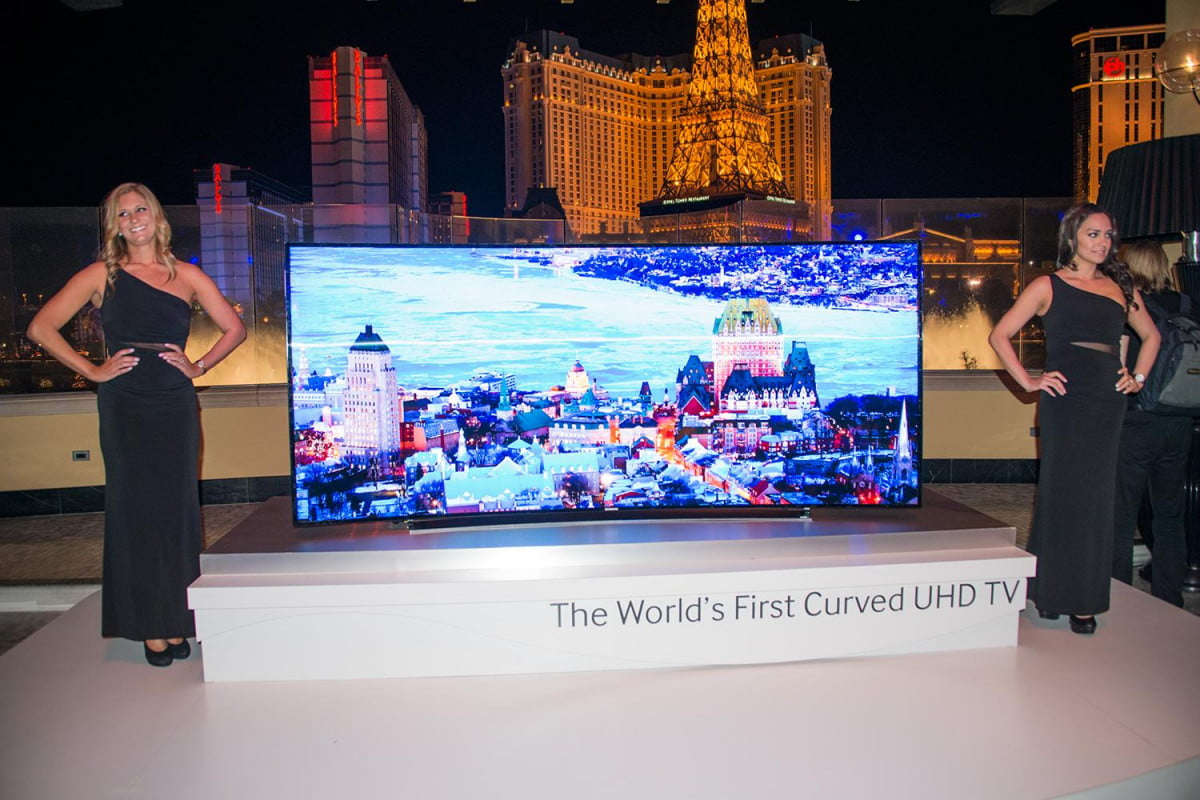 samsung unveils entire uhd tv lineup ces  leading inch monster ultra hd