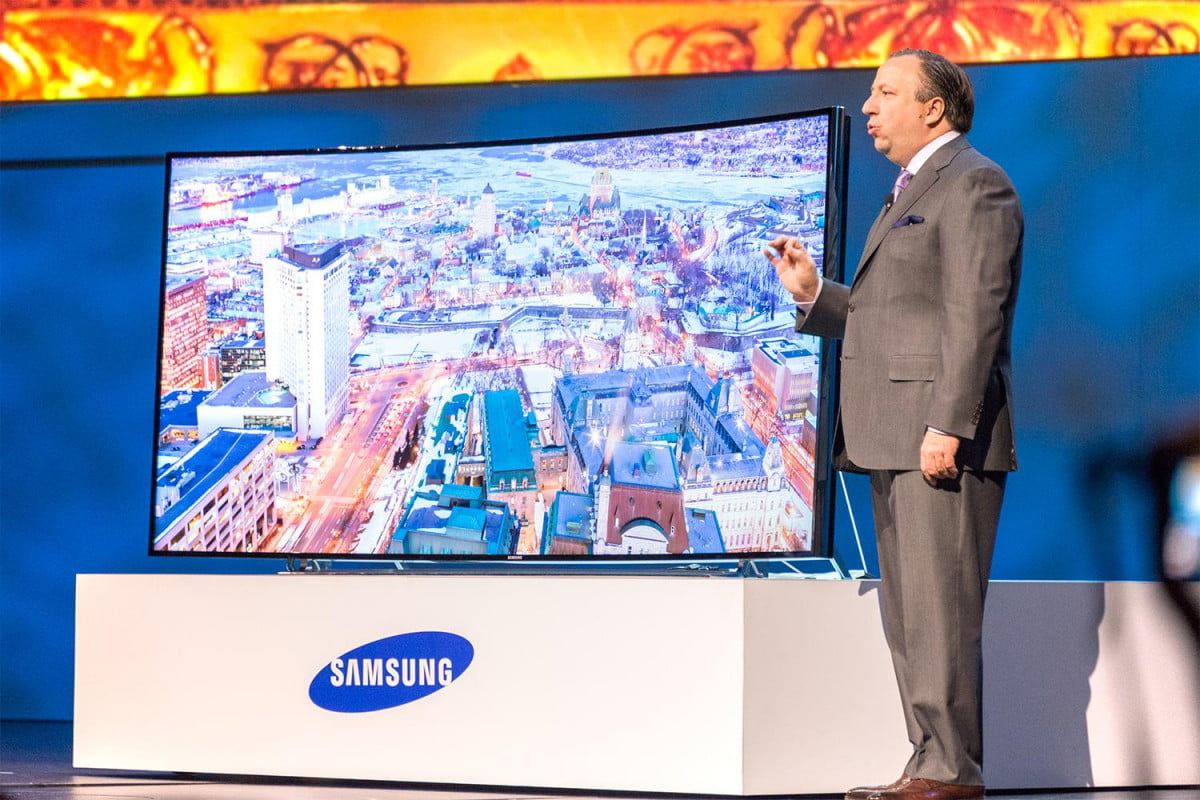 samsung outlines plans create momentum swing  k content ultra hd tv