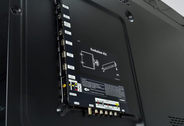 Samsung UN60ES8000 rear inputs 3d led smart tv