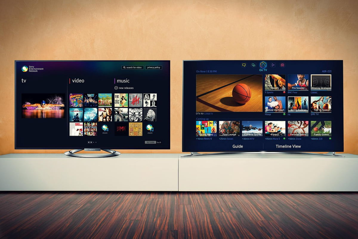 sony vs samsung whose tv belongs in your living room