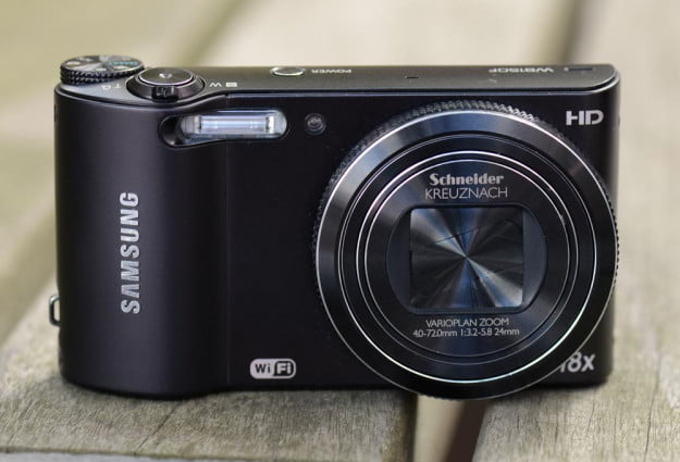 samsung wb150 review front lens