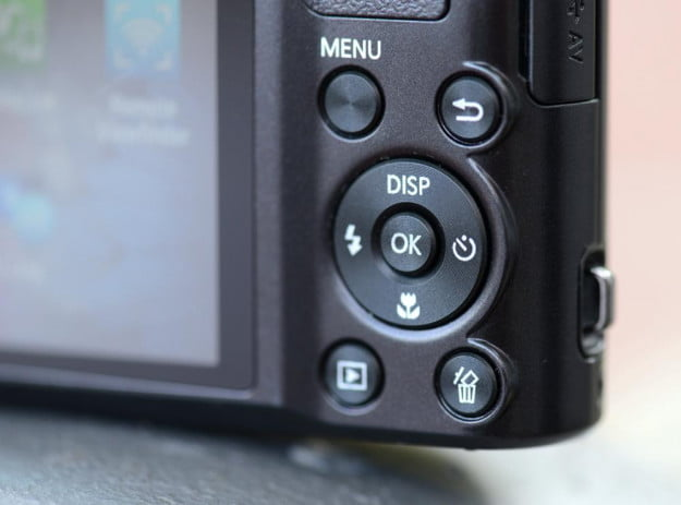 samsung wb150 review rear controls point and shoot wifi camera