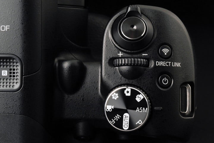 samsung wb  f review top controls