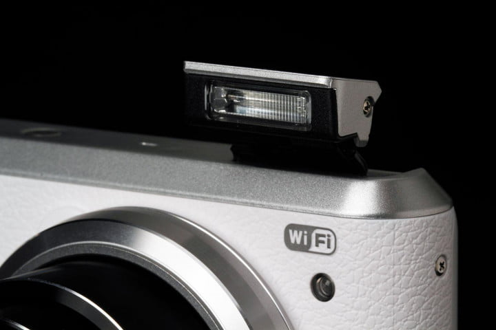 samsung wb  f review flash macro