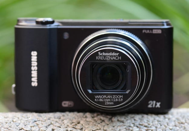samsung wb850f review smart camera front lens compact digital camera