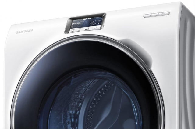 samsungs latest washer lets laundry phone ww  samsung