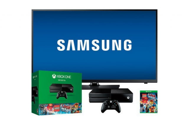 Samsung-Xbox-One-bundle--40-inch-Samsung-LED-HDTV-and-The-Lego-Movie-game