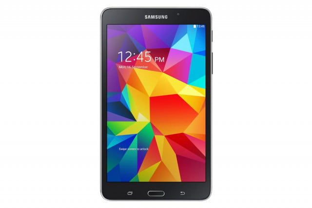 samsung galaxy tab  first tablet use sprints spark network samsunggalaxytab blackfront