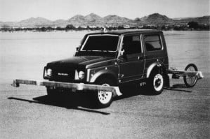 Suzuki Samurai failure test img