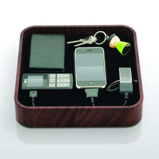 Sanctuary Device Organizer and Charger by Bluelounge