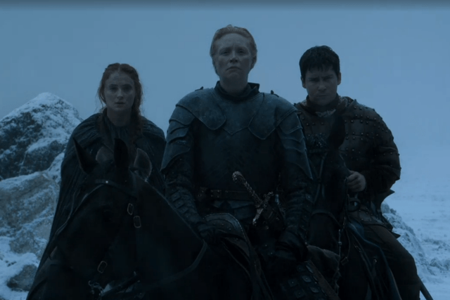 game of thrones season  episode recap sansa brienne and pod