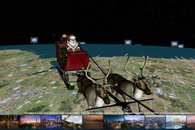 santas on his way check out location with these trackers santa tracker
