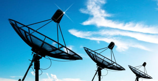 satellite dishes airwaves shutterstock