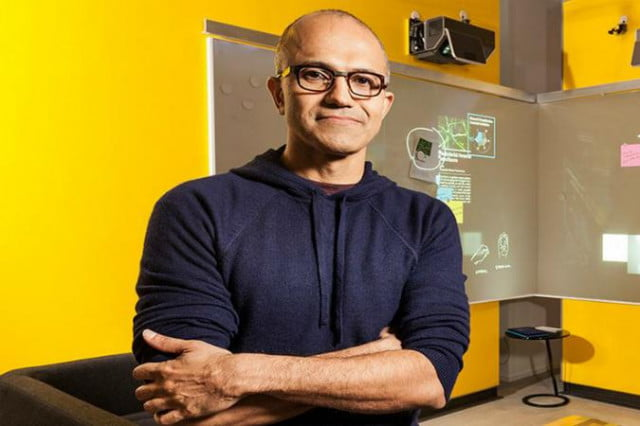 new microsoft ceo satya nadella hold webcast today  p m et