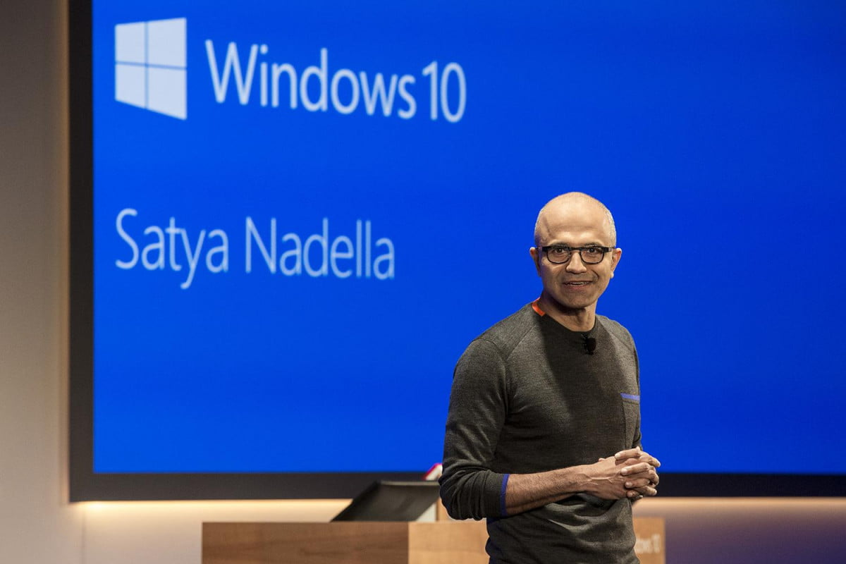 microsoft lays out all of the upgrade paths for windows  satya nadella print