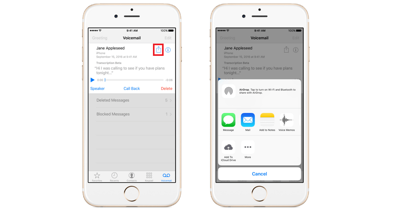 How To Save Voicemails From An Iphone Digital Trends