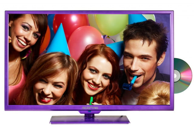 sceptre adds dvd to  inch hdtvs