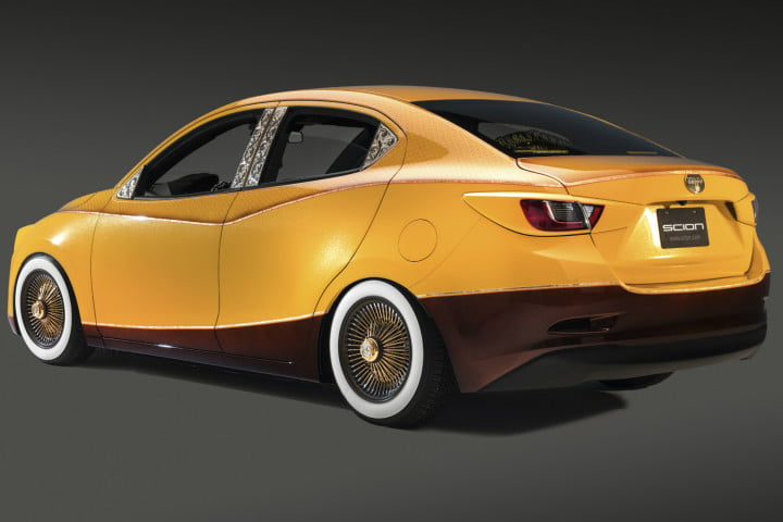 scion brings lowrider and possessed car to sema eddie huang ia rear
