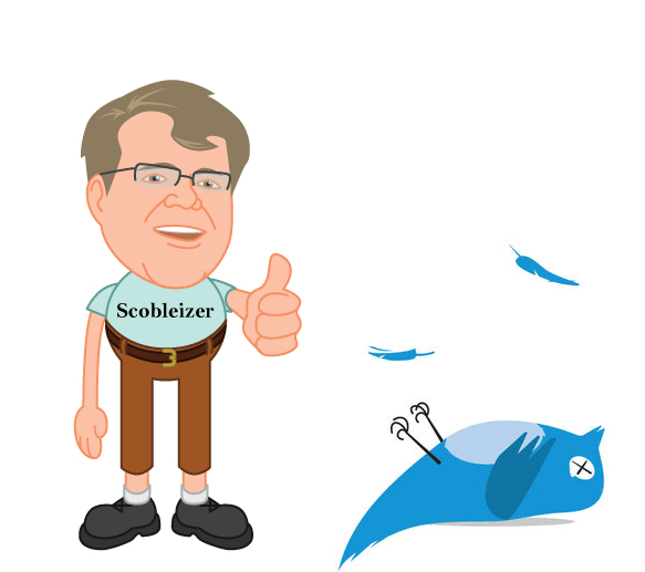 scoble vs twitter