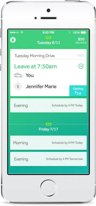 scoop carpooling app news overview driver