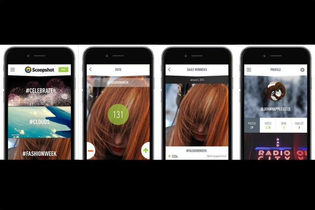 mobile photo agency scoopshot adds contests encourage users uploads photos version