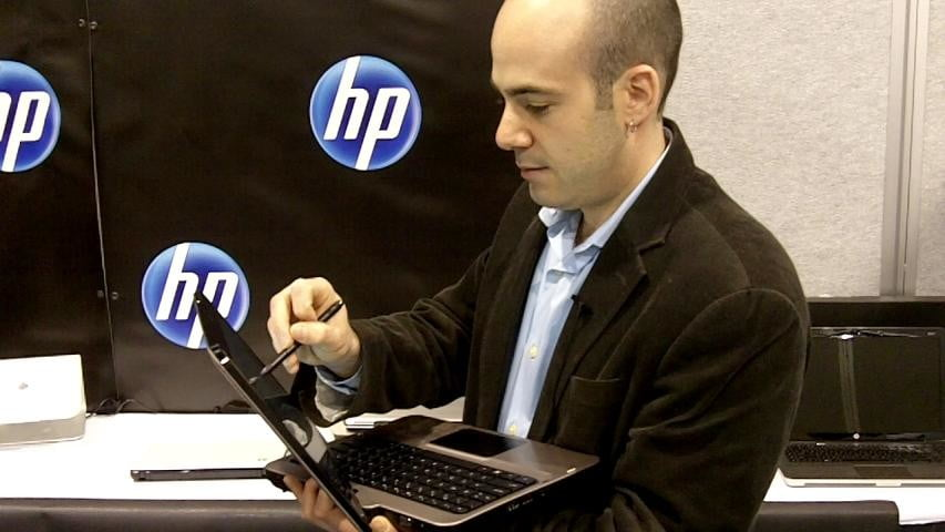 scott discusses tablet trend with HP TM2-poster