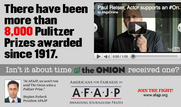 The Onion Pulitzer