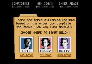 Mad Men YouTube Game Choices